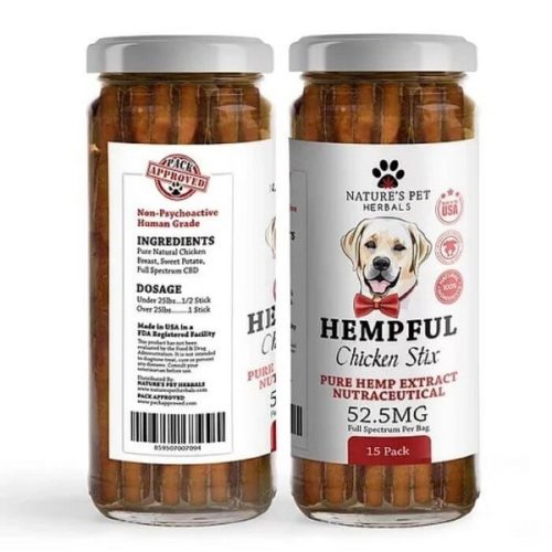 CBD_Chicken_Stix_for_Pets_by_Natures_Pet_Herbals